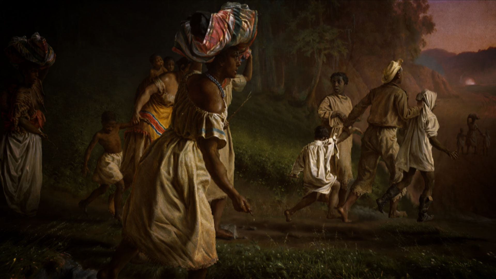 experiences of amerindians african slaves and At that time many of those immigrants saw the african slave trade and slavery as a key feature of the american experience, and participation in it as truly american in fact, it was in fact, it was.