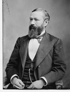 Governor P.B.S. Pinchback. Photo from Library of Congress.