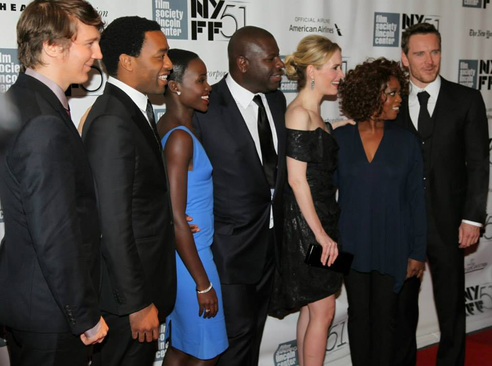Years A Slave Trek From Slave To Screen  The African Americans  The Cast Of  Years A Slave And Director Steve Mcqueen At Far