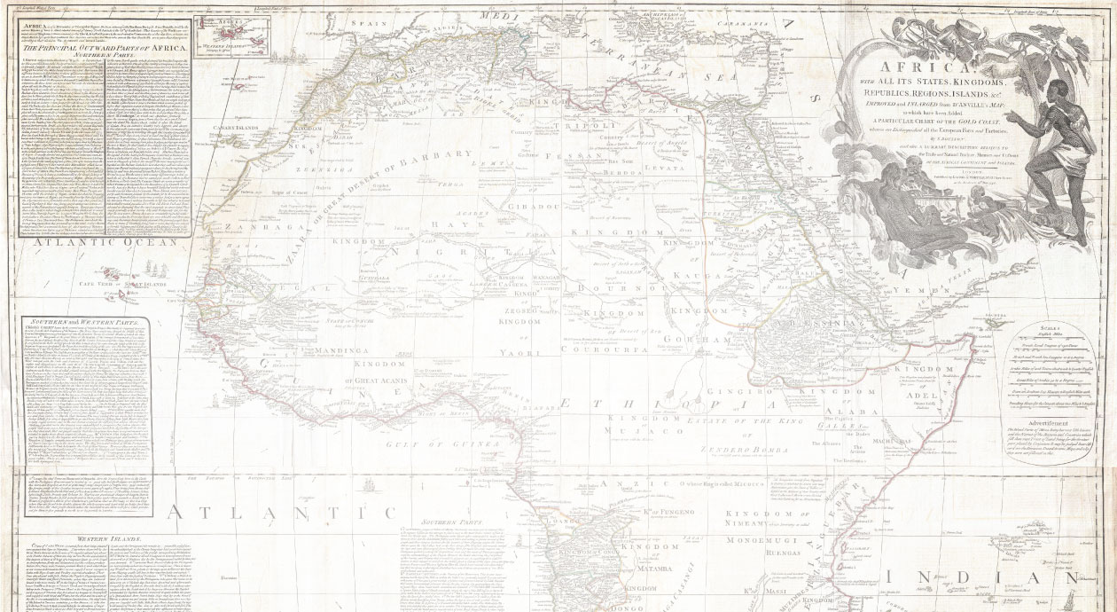 Numbered Map Of Africa.African American Migrations 1600s To Present The African