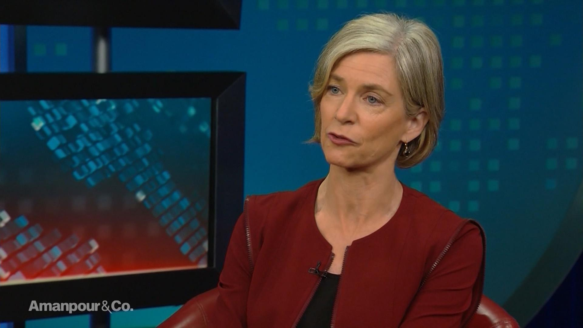 Biochemist Jennifer Doudna Discusses CRISPR