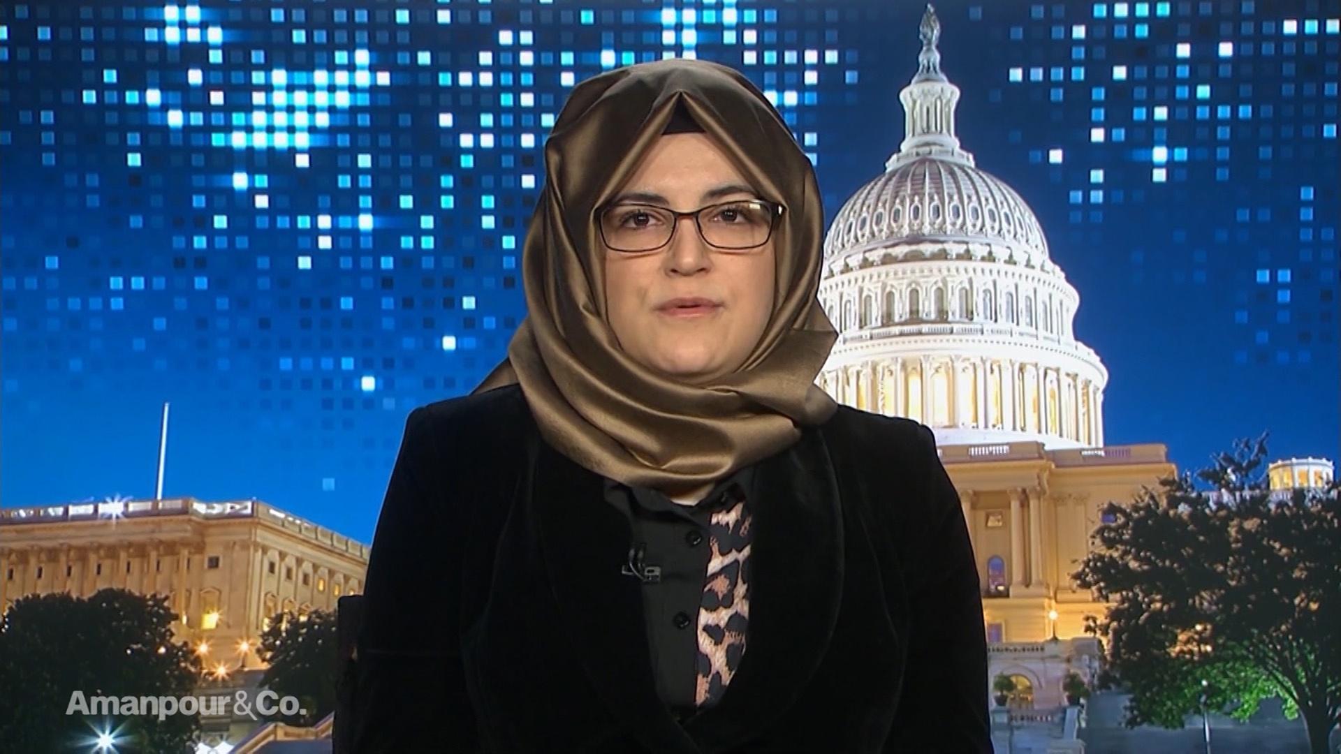 Hatice Cengiz, Jamal Khashoggi's Fiancée, on Justice