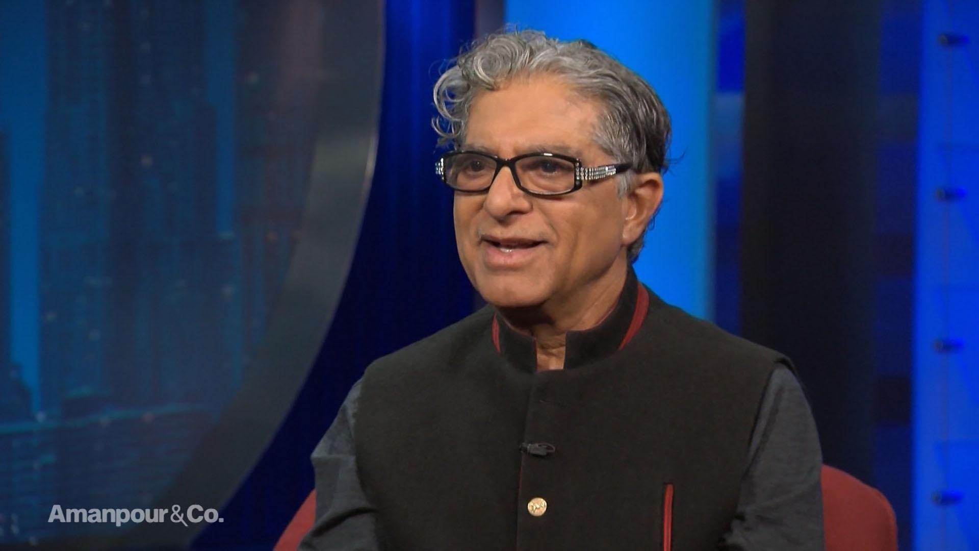 "Deepak Chopra: ""We're Risking Our Extinction"""