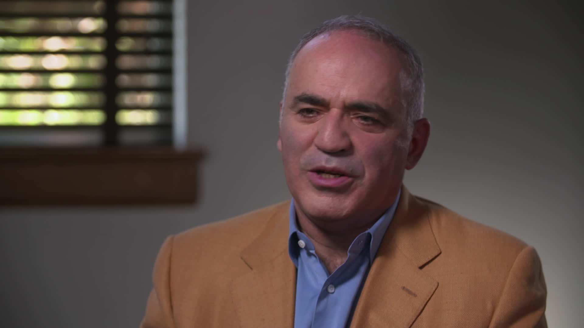 Garry Kasparov Talks Chess, Tech, Trump and Putin