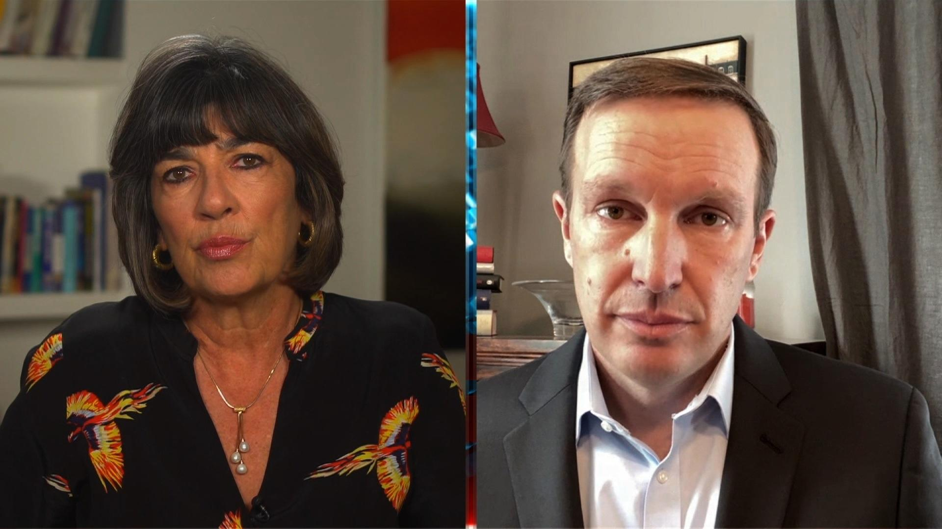 Sen Chris Murphy America Has Become Numb To Violence Video Amanpour Company Pbs
