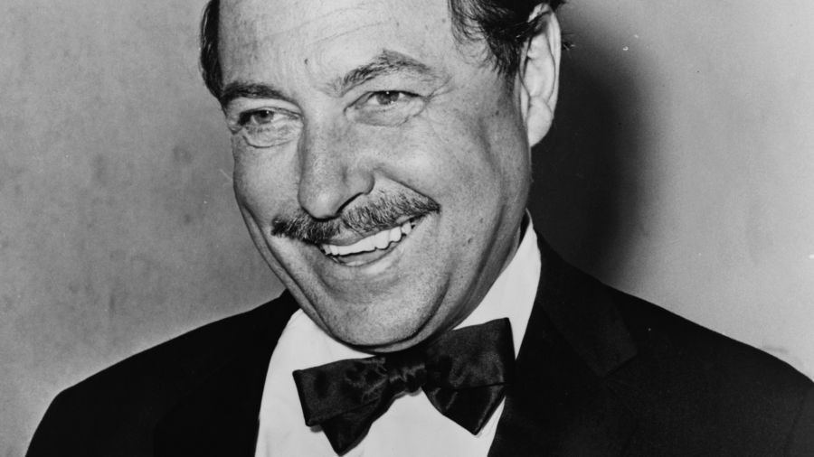 Tennessee Williams at age 54 in 1965.