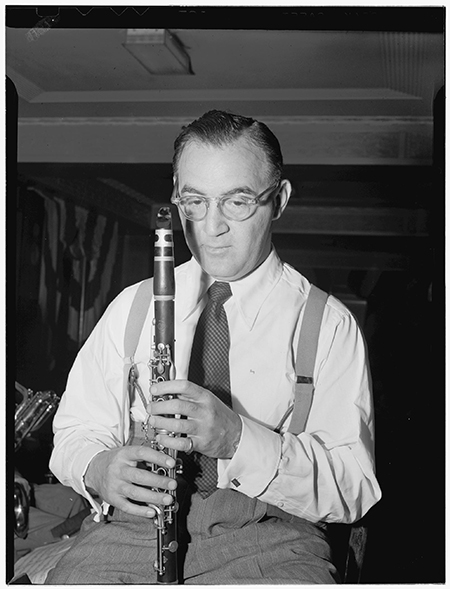 Benny Goodman, New York City, 1946. Photo: The Library of Congress