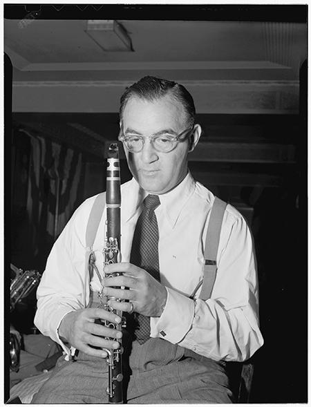 Benny Goodman, New York City, 1946. Photo: The Library of Congress