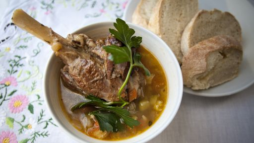 Recipes with Alice Waters: Soupe Au Pistou with Lamb Shanks