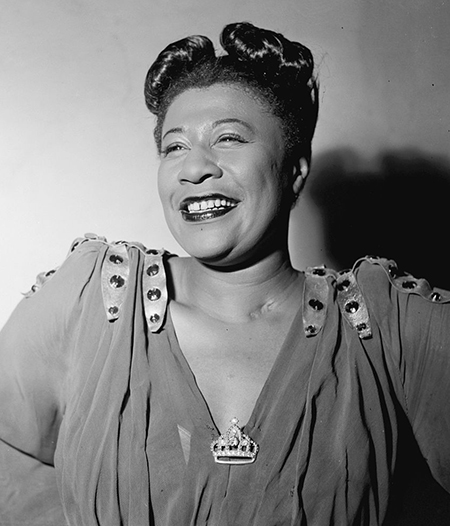 Ella Fitzgerald in November 1946. Photo: William P. Gottlieb.