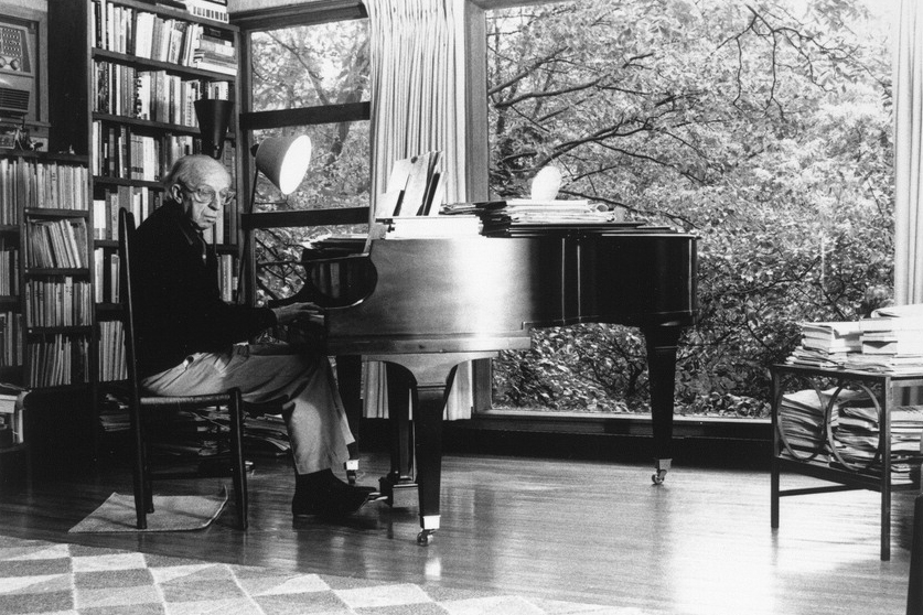 Aaron Copland. Photo: The Library of Congress