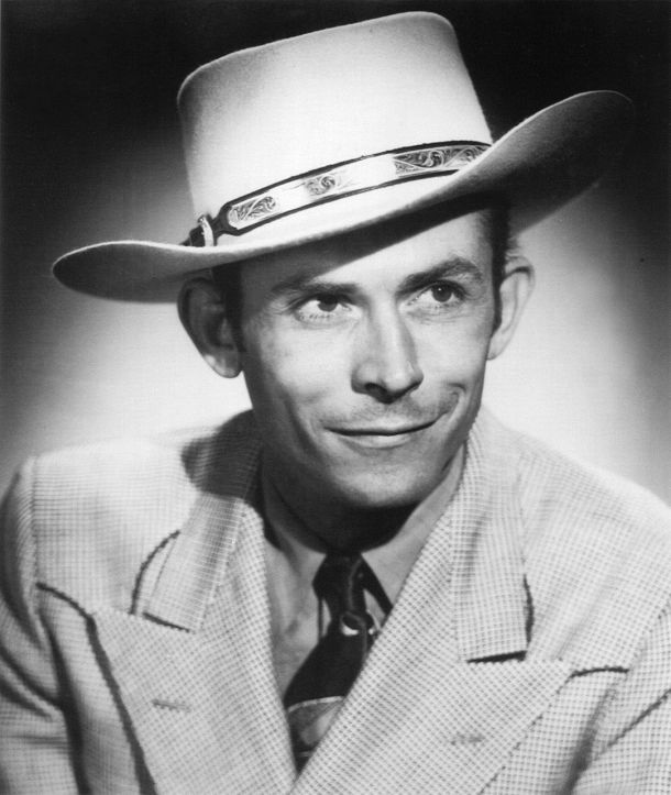 Hank Williams in 1948. Photo: MGM Records