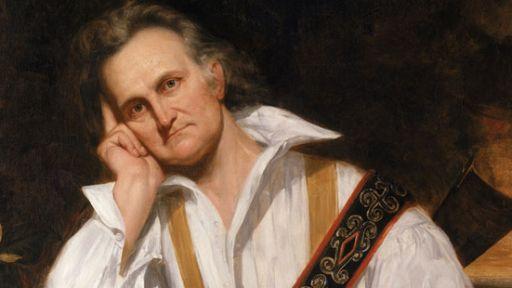 A portrait of John James Audubon