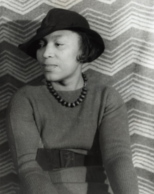 Zora Neale Hurston (1938). Photo by Carl Van Vechten.