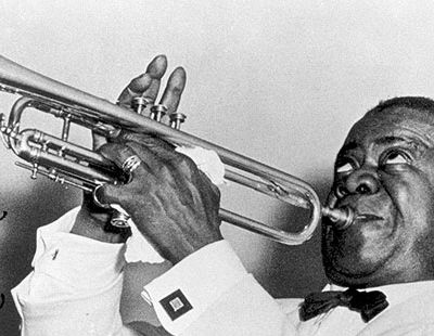 the life and work of louis armstrong An early job working for the jewish karnofsky family allowed armstrong to make enough money to purchase his first cornet on new year's the records by louis armstrong and his five–and later, hot seven–are the most influential in jazz armstrong's my whole life, my whole soul, my whole spirit is to blow that horn.