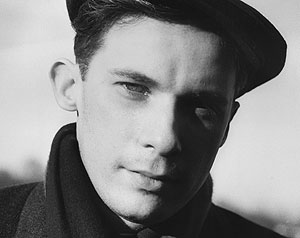 Gould, the artist as a young man photographed by his close friend John P.L. Roberts. Toronto.