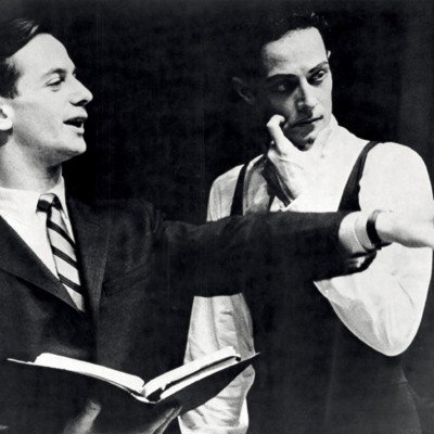 Joffrey Ballet founders Robert Joffrey and Gerald Arpino