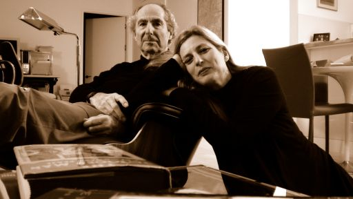 Livia Manera and Philip Roth