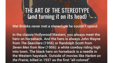 Blazing Saddles: The Art of the Stereotype