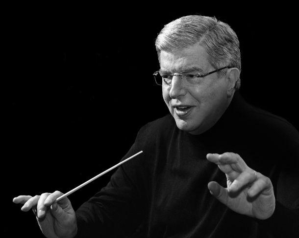 Marvin Hamlisch conducting