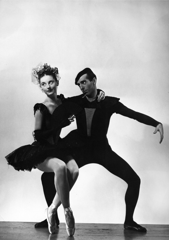 Tanaquil Le Clercq and Jerome Robbins. Photo courtesy of Augusta Films.