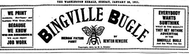 bingvillebugle