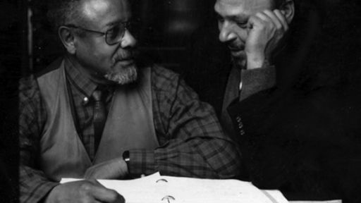 Lloyd Richards and August Wilson