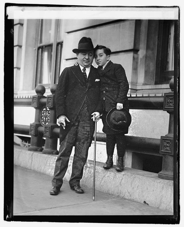 Max Malini and son.
