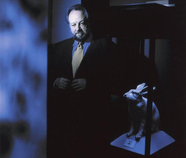 Ricky Jay is the author of the Conjuring entry in the Encyclopaedia Britannica. Photo by Lara Jo Regan.