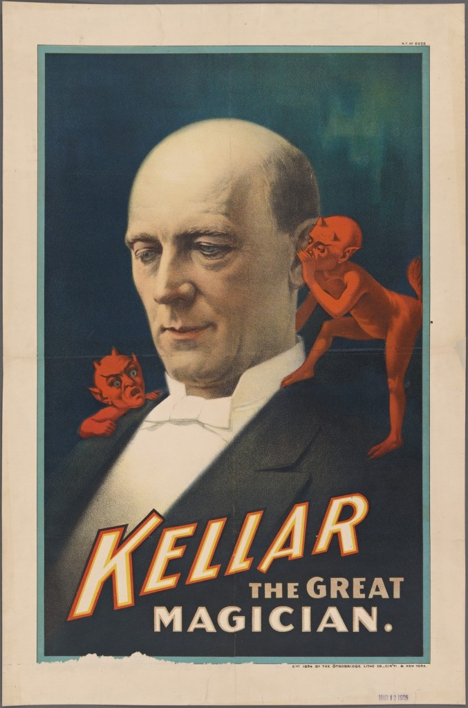 Harry Kellar poster. Courtesy of The New York Public Library's Collections.