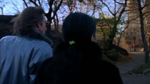 John and Yoko Walk in Central Park