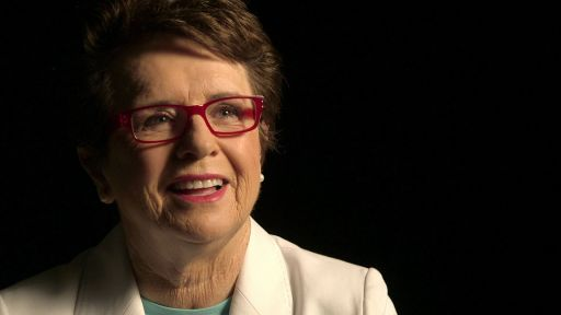 Billie Jean King on Billie Jean King