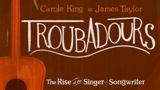 Troubadours Carole King and James Taylor