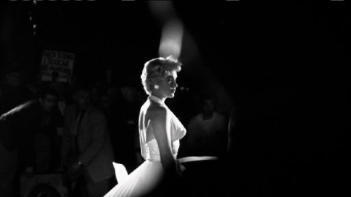 Marilyn: All Alone In A White Halter Dress