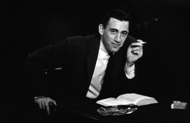 J.D. Salinger. Photo by Antony Di Gesu/San Diego Historical Society/Hulton Archive Collection/Getty Images.