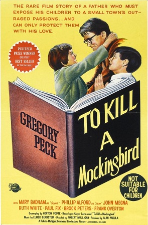 To Kill a Mockingbird won 3 Academy Awards (Best Actor, Best Adapted Screenplay, Best Art Direction) of 8 nominations