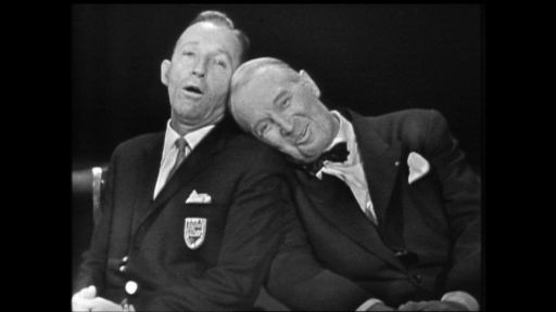 Bing Crosby Rediscovered - Full Film -- Bing Crosby, Maurice Chevalier and Carol Lawrence Perform
