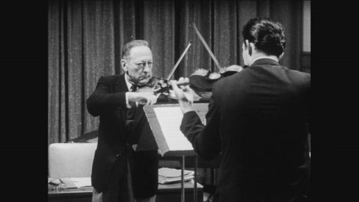 The time the great violinist Jascha Heifetz tested 14-year-old Itzhak Perlman's skills