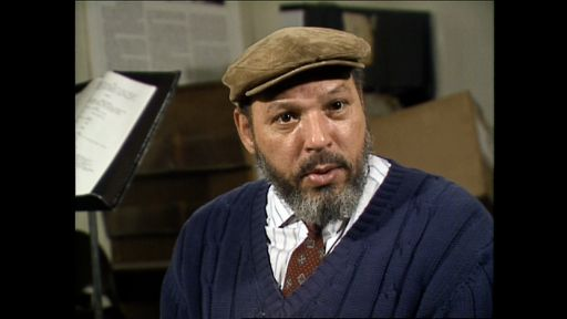 Clip |  August Wilson on Beginning with Dialogue
