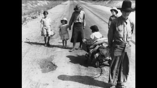 Dorothea Lange: Grab a Hunk of Lightning --  The Dust Bowl: Documenting the First Migrants to California