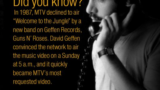 Geffen and MTV
