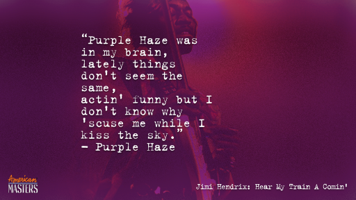 Jimi Hendrix Purple Haze Lyric