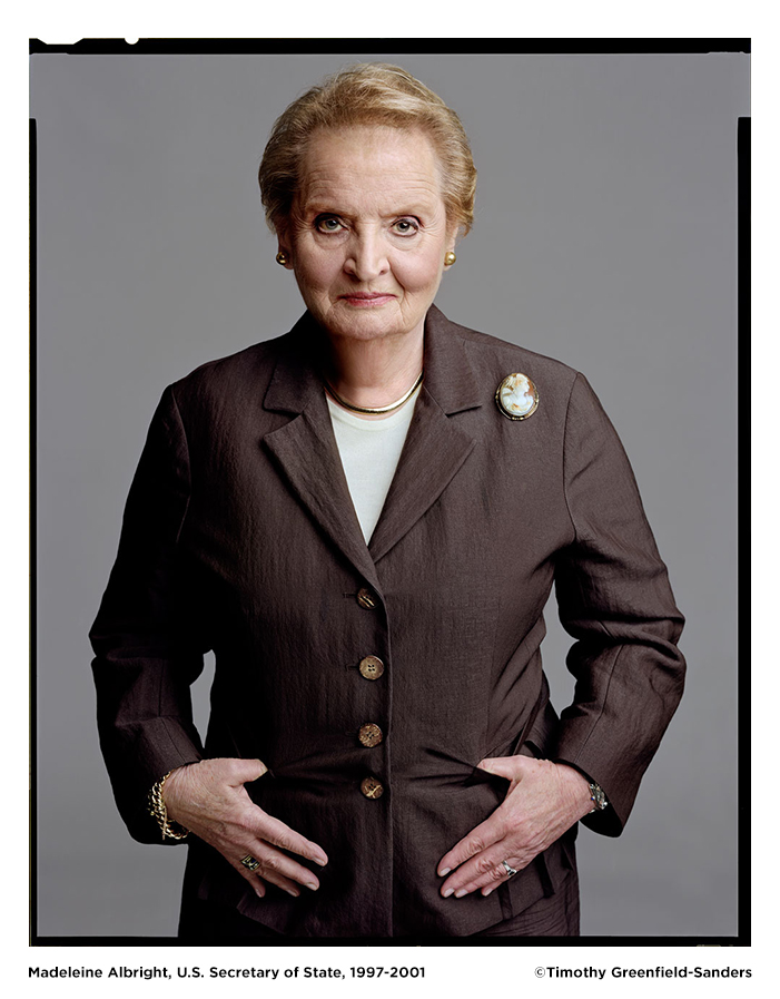 Madeleine Albright by Timothy Greenfield-Sanders