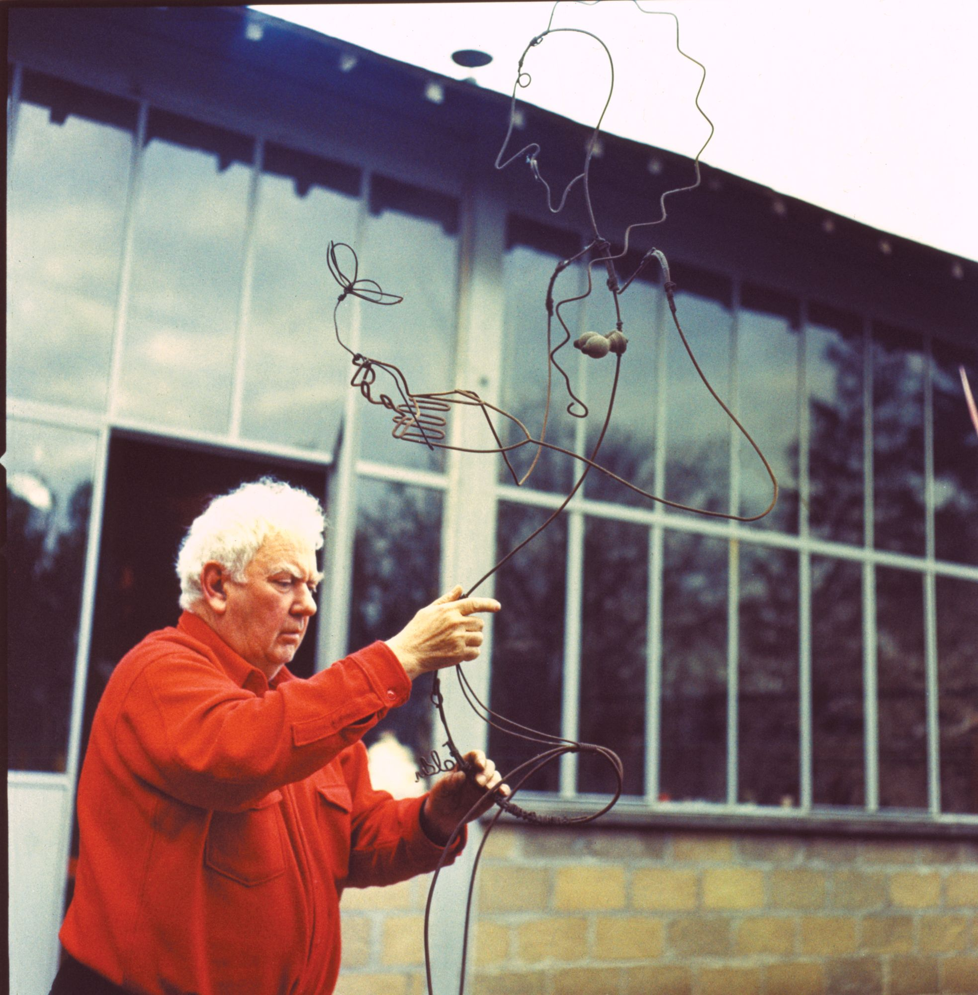 Alexander Calder by Pedro E. Guerrero