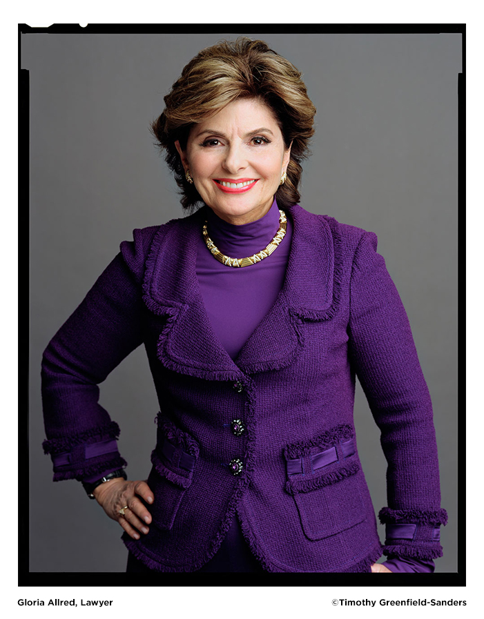 Gloria Allred photo by Timothy Greenfield-Sanders
