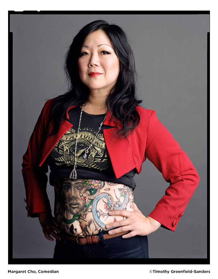 Margaret Cho photo by Timothy Greenfield-Sanders