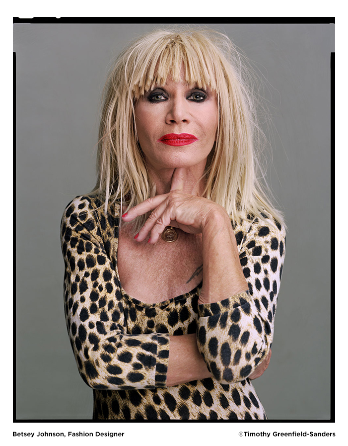 Betsey Johnson photo by Timothy Greenfield-Sanders
