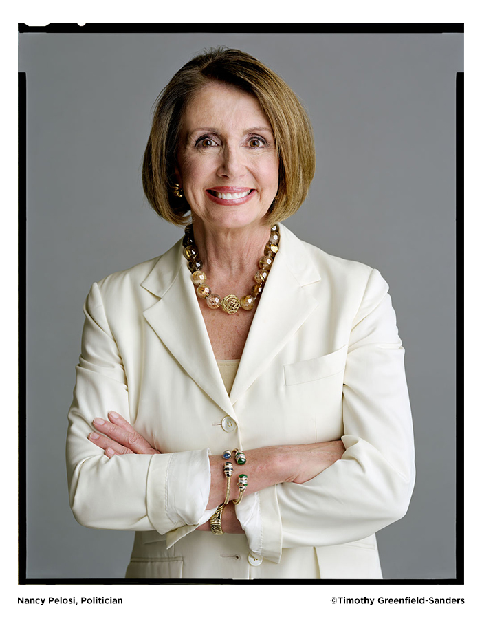 Nancy Pelosi photo by Timothy Greenfield-Sanders