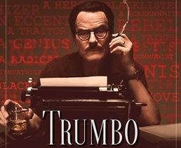 Trumbo (2015) opens Nov. 6, 2015. Directed by Jay Roach, it stars Bryan Cranston as Dalton Trumbo.