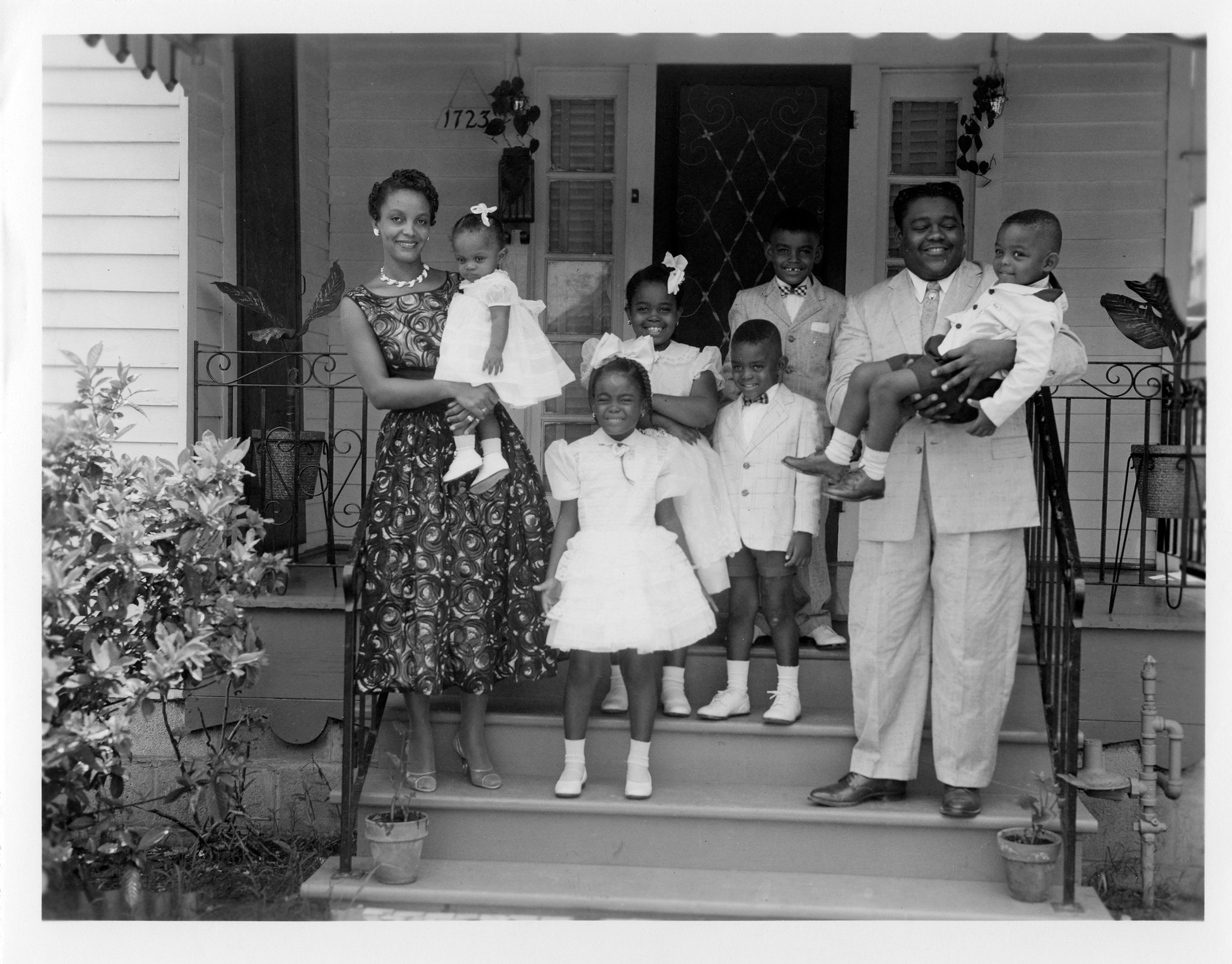 Fats Domino and his family